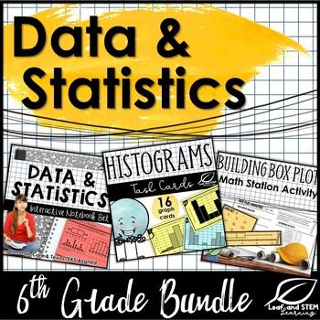 Data and Statistics 6th Grade Unit Bundle