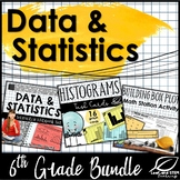 Data and Statistics 6th Grade Unit Bundle