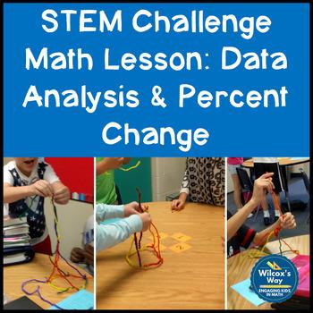 STEM Challenge Math Activity: Percent Change and Statistics