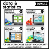 Data and Statistics - Digital Math Activities (Distance Le