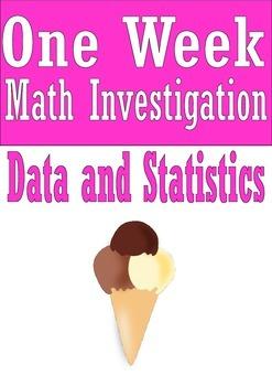 Data and Statistics Math Investigation