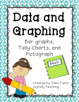 Data charts, bar graphs and pictograph printable