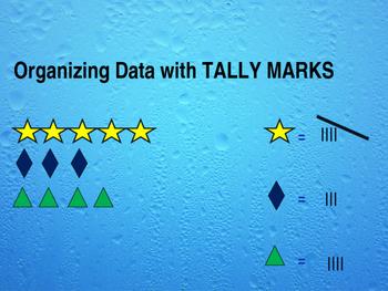 Data from tally marks