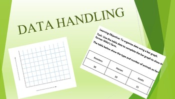 Data handling - Grade 3 - math - Bar graph