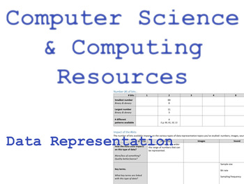 Data representation and impact of number of bits used