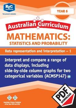 Data representation and interpretation 1 – Year 6