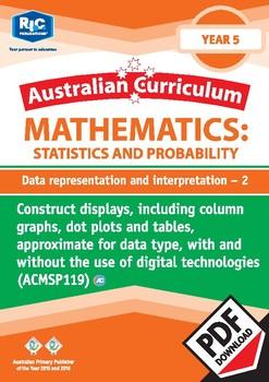 Data representation and interpretation 2 – Year 5