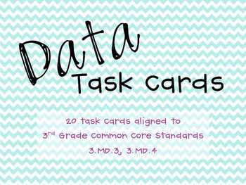 Data/Graphing Task Cards