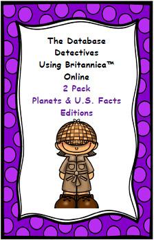 Database Detectives Using Britannica Online 2 Pack