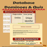 Database Dominoes & Interactive Graded Assessment Quiz (3