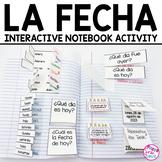 Spanish Interactive Notebook Activity:  La Fecha