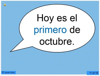 Recognizing the Date in Spanish (with audio!)