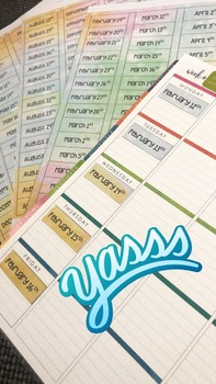 #AUSBTS18 - Date Sticker Template - Editable