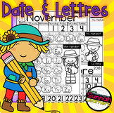 Date et Lettres (Date and Letters) November/Novembre