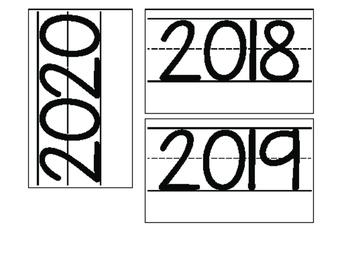 Date for Board or Calendar (Black)