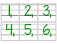 Date for Board or Calendar (Green)