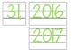 Date for Board or Calendar (Light Green)