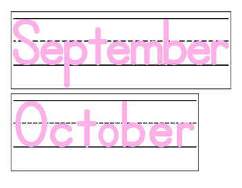 Date for Board or Calendar (Light Pink)