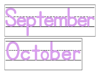 Date for Board or Calendar (Lilac)