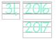 Date for Board or Calendar (Mint Green)