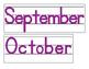Date for Board or Calendar (Purple)