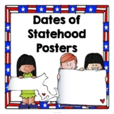 Date of Statehood Posters - United States