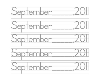 Date pages