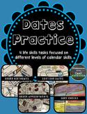 Dates Practice - 4 Calendar Skill Tasks
