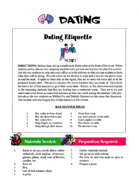 Dating Lesson