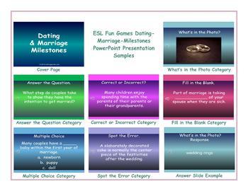 Dating-Marriage-Milestones PowerPoint Presentation