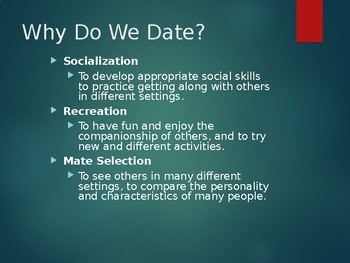 Dating & Mate Selection