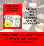 Dating Skills and Abstinence Health Trivia Board Game