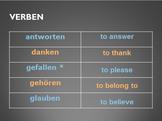 Dative Verbs