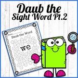 Daub the sight word part 2
