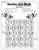 Dauber Dot Math Sample