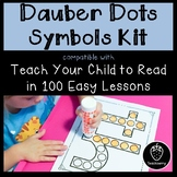 Dauber Dots Symbols- Compatible w/ Teach Your Child to Read in 100 Easy Lessons