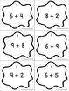 Daubing for Numbers: Basic Addition Facts (Bingo Dauber Activity)