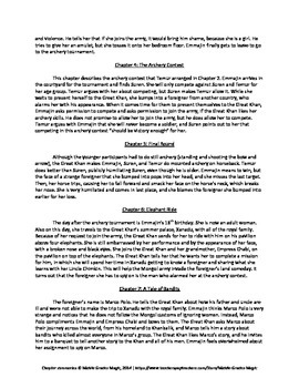 Daughter of Xanadu Chapter Summaries