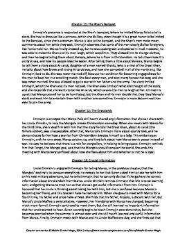 Daughter of Xanadu Chapter Summaries