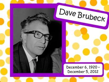 Dave Brubeck: Musician in the Spotlight