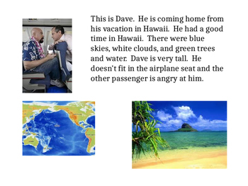 Super Simple Stories for Language Learners:  Dave Comes Home
