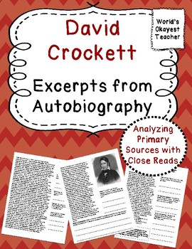 Davey Crockett: Primary Source
