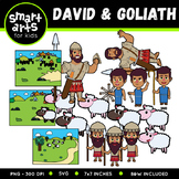 David And Goliath Clip Art