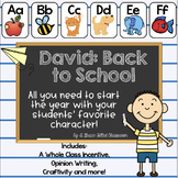David At School: Book Companion and Activities