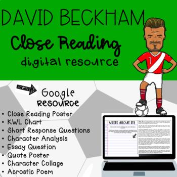David Beckham Digital Close Read