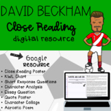 David Beckham Digital Close Read
