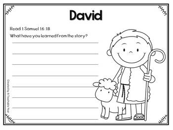 David- Bible Lesson