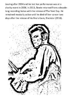 David Bowie Handout