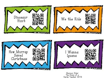 David Catrow QR Readers for Listen to Reading