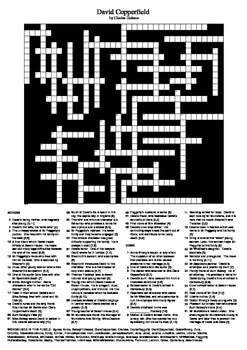 David Copperfield Crossword Puzzle